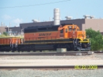 BNSF SD40-2 1888